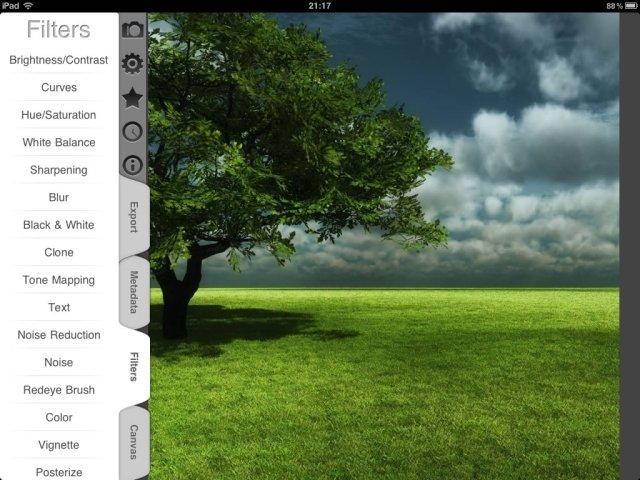 7 applications de retouche photos sur l'Ipad 1