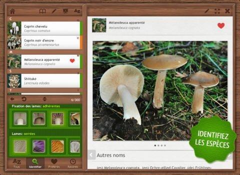 Nature Mobile app.