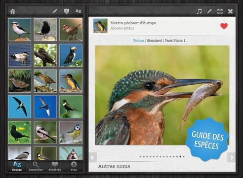 Nature Mobile app