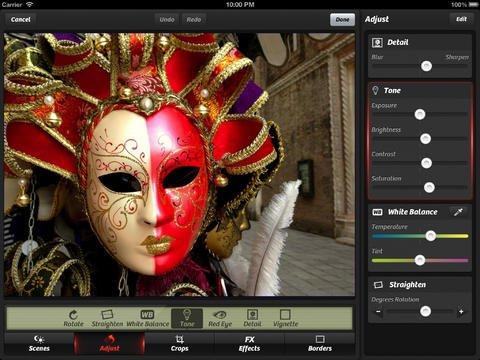 Application Camera+ pour iPad