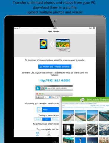Application Easy Media Transfer