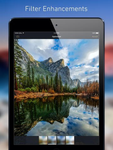 Application HDR pour iPad