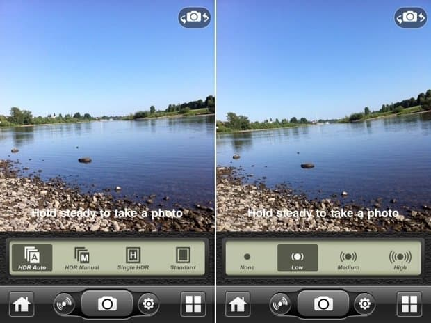 iCamera HDR pour ipad