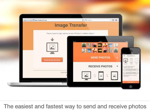 Application Image Transfer