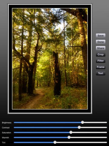 Application Pro HDR pour iPad