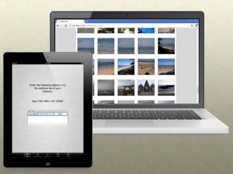 Application Wifi Photo Transfert