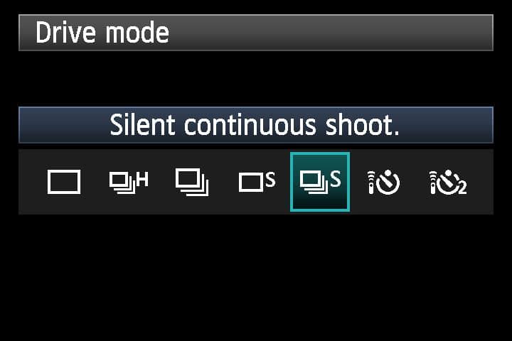 DSLR Remote de BitShift sur Canon