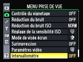 DSLR Remote de BitShift sur Nikon