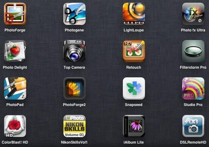 applications photo