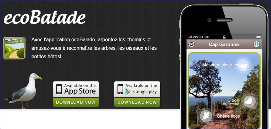 application ecobalade