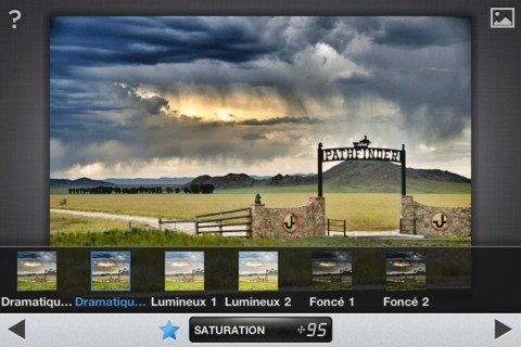 Snapseed pour iPad : la retouche photo selon Nikon 1